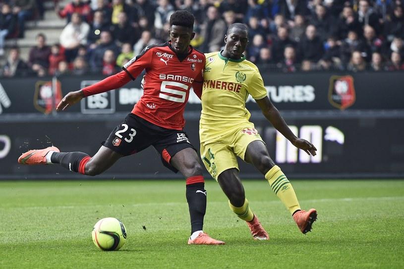 Z lewej Ousmane Dembele /AFP
