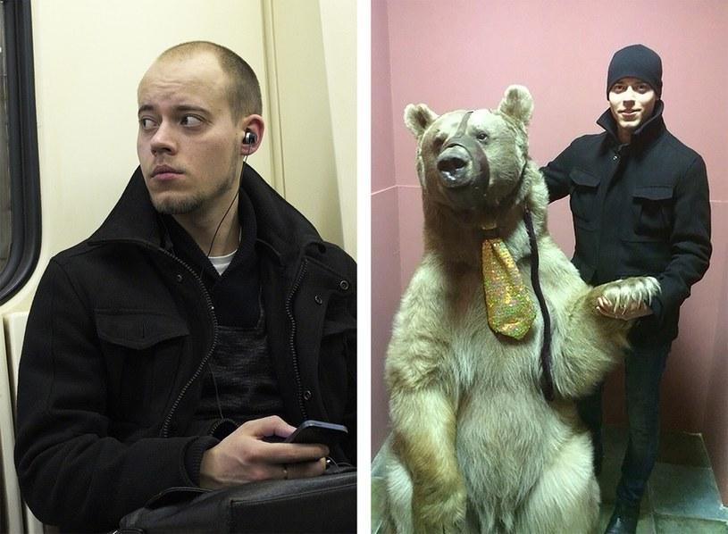 Z lewej - zdjęcie w ramach projektu, z prawej - znalezisko z portalu VKontakte /birdinflight.com /Internet