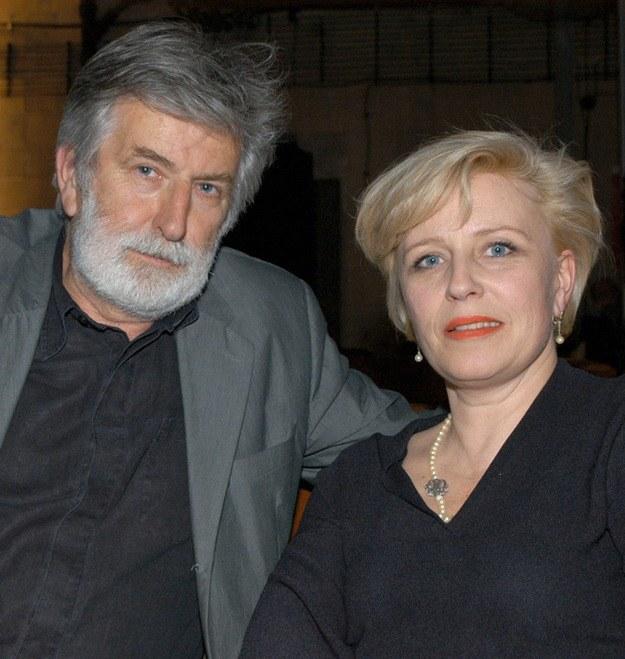Z mężem Edwardem Kłosińskim /Prończyk /AKPA