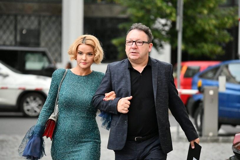 Z mężem Zbigniewem Zamachowskim (57) często razem pracują. Monika podziwia w nim artystę /East News
