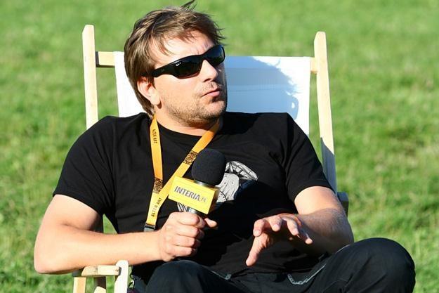Z Mikołajem Ziółkowskim spotkaliśmy się na festiwalu Coke Live - fot. Marcin Wójcik /INTERIA.PL