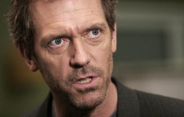 - Z natury nie jestem pogodną osobą - mówi Hugh Laurie, fot.Charley Gallay  /Getty Images/Flash Press Media