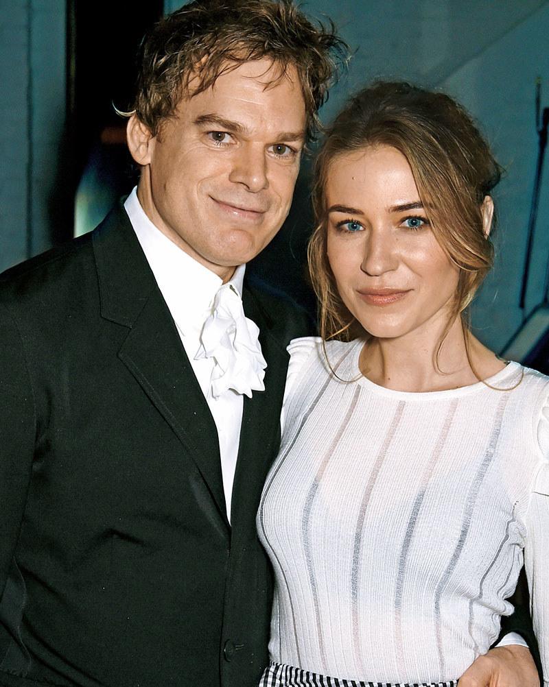 """Z obecną żoną – Morgan Macgregor. Jako para zadebiutowali na rozdaniu nagród Emmy w 2012 r. Po czterech latach związku powiedzieli sobie sakramentalne """"tak"""" podczas cichej ceremonii ślubnej /Świat Seriali"""
