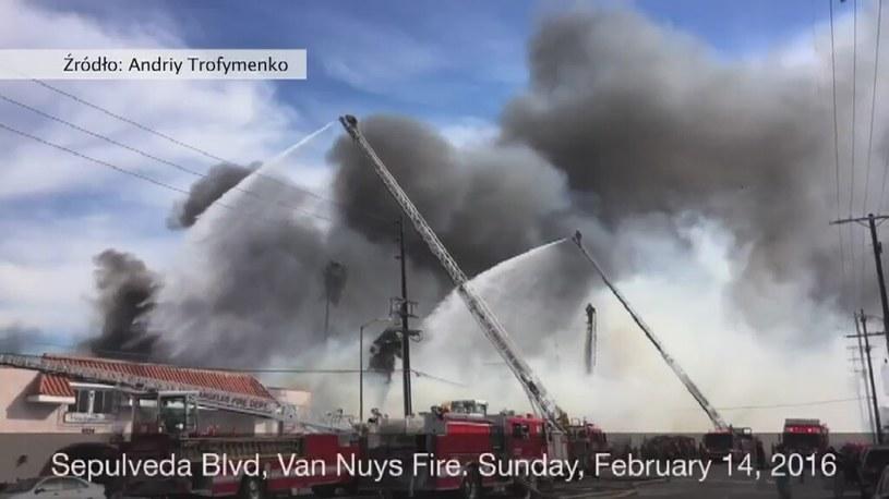 Z ogniem walczyło 150 strażaków /STORYFUL/x-news