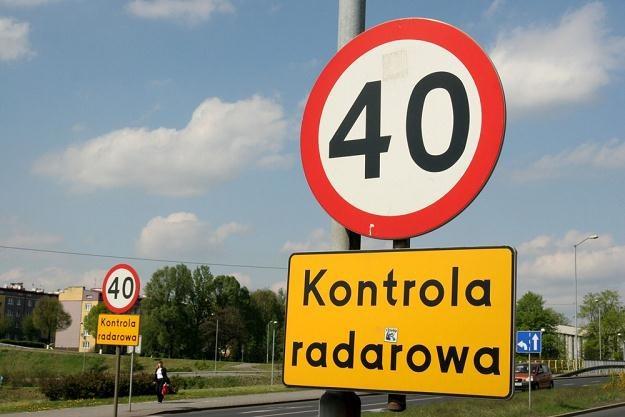 Z ograniczeniami prędkości nie jest wcale prosta sprawa / Fot: Adrian Ślązok /Reporter