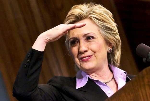 Z okazji 10-lecia Wspólnoty Demokracji do Krakowa przyjedzie m.in. Hillary Clinton /AFP