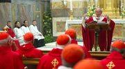 Z okazji swych imienin papież odprawił mszę