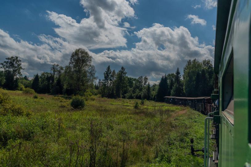 Z okna wagonu można podziwiać malownicze widoki /123RF/PICSEL