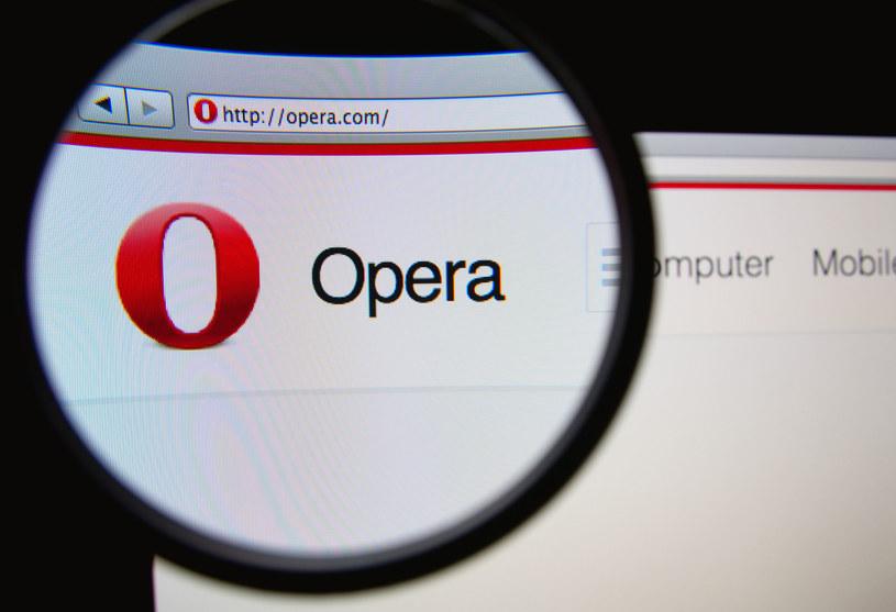Z Opery korzysta około 350 milionów internautów /123RF/PICSEL