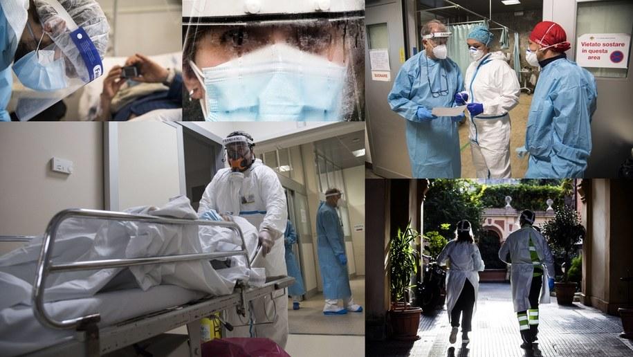 Z pandemią koronawirusa walczymy od marca 2020 roku /ANGELO CARCONI, LUCA ZENNARO.  /PAP/EPA