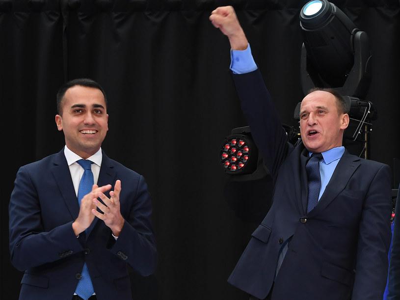 Z pięciu ugrupowań z krajów UE, z którymi Di Maio zawarł porozumienie o utworzeniu nowej grupy w PE, tylko jedno dostało się do PE. Mandatów nie zdobyło między innymi ugrupowanie Kukiz'15. /Janek Skarżyński /AFP