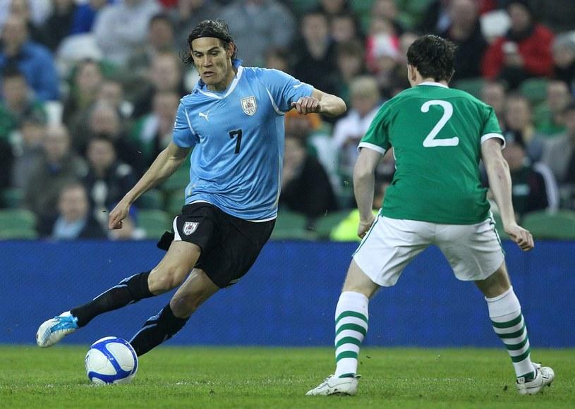 Z piłką Edinson Cavani, gwiazda reprezentacji Urugwaju /AFP