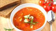 Z pomidorów i awokado