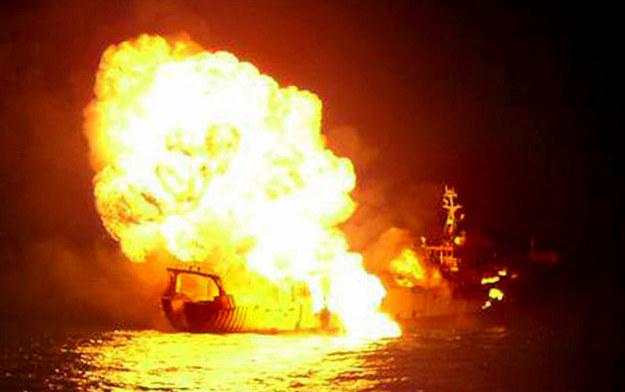 Z powodu błyskawicznie rozprzestrzeniającego się ognia załodze nie udało się wysłać sygnału SOS (zdjęcie ilustracyjne) /AFP