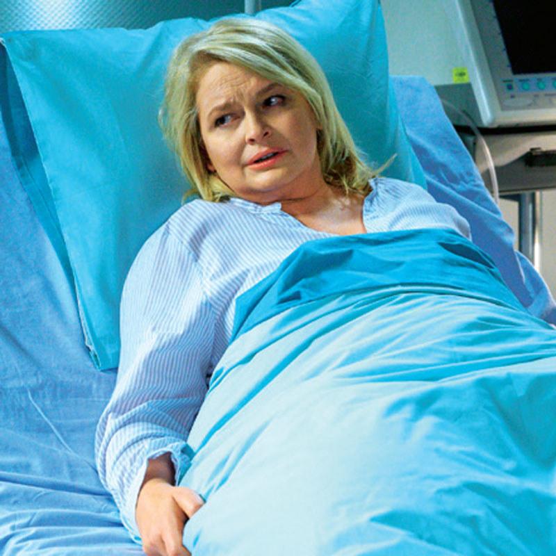 Z powodu niewydolności nerek Wojciechowska trafi do szpitala /Świat Seriali