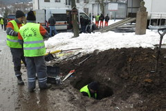Z powodu uszkodzonego gazociągu ewakuowano podstawówkę w Wieliczce