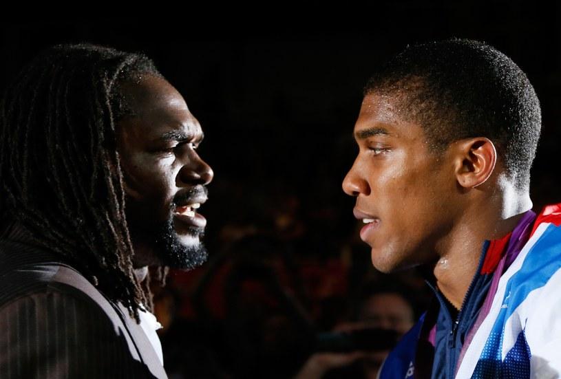 Z prawej Anthony Joshua /AFP