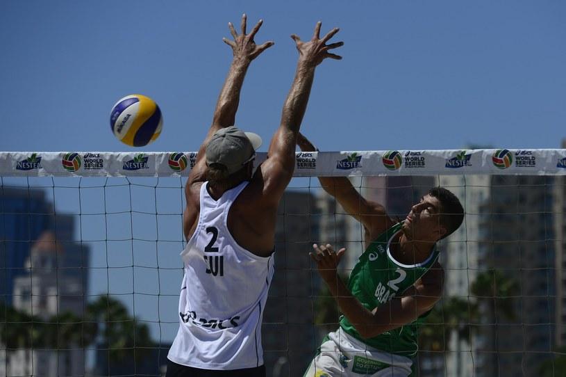 Z prawej Brazylijczyk Saymon Barbosa /AFP