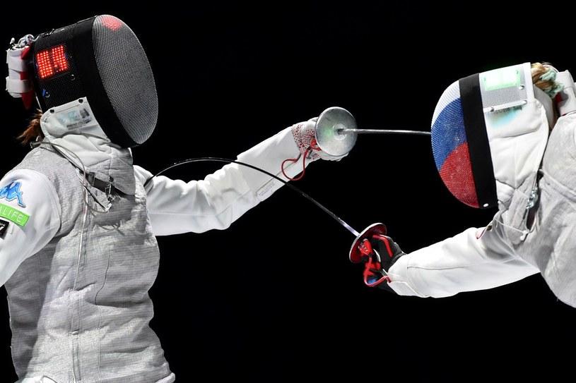 Z prawej Inna Derigłazowa /AFP