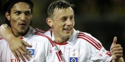 Z prawej Ivica Olić /AFP