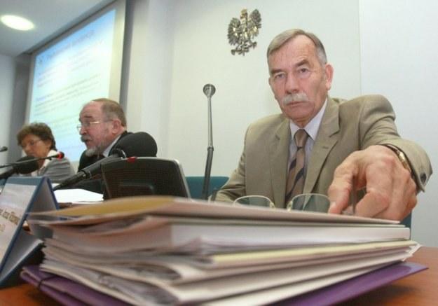 Z prawej Janusz Witkowski, wiceprezes GUS. Fot. Jacek Wajszczak /Reporter