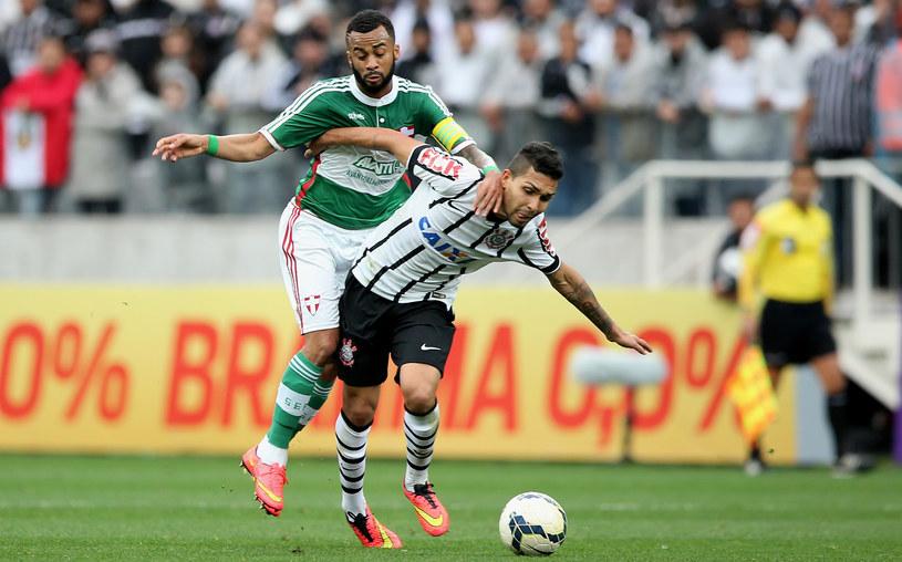 Z prawej Petros - zawieszony piłkarz Corinthians /Getty Images
