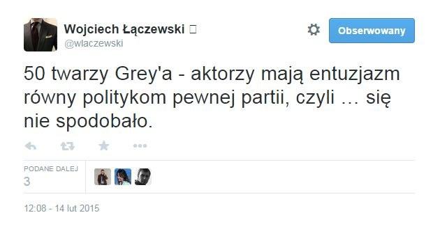Z profilu sędziego Łączewskiego /Twitter
