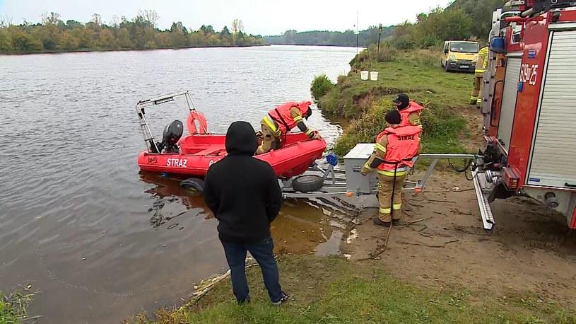 Z rzeki Narew wyłowiono ciała kobiety i dziecki /Polsat News /Polsat News