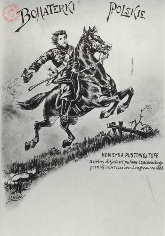 """Z serii """"Polskie bohaterki"""" /Archiwum Akt Nowych"""