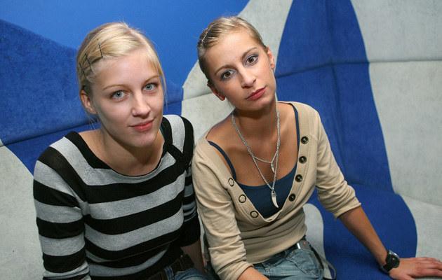 Z siostrą Kasią, fot.Palicki  /AKPA
