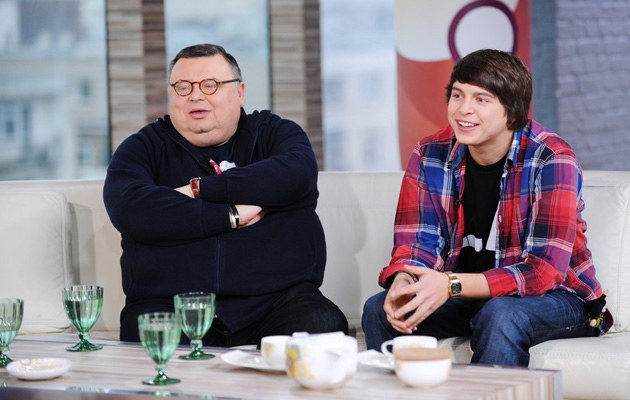 Z synem Marcinem, fot.Michał Wargin  /East News