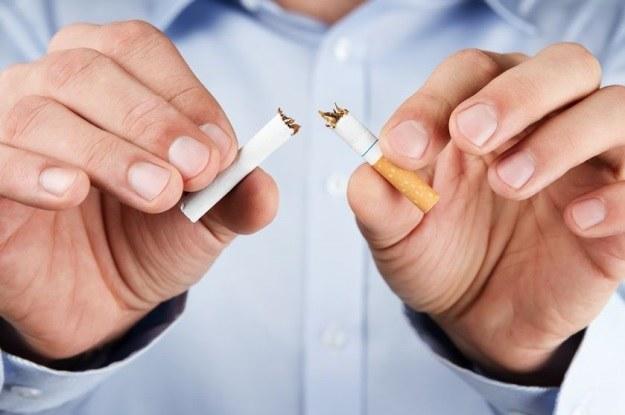 Z tą substancją będzie łatwiej rzucić palenie? /123RF/PICSEL