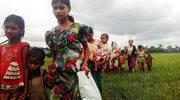 Z terenu walk w Birmie ewakuowano tysiące ludzi