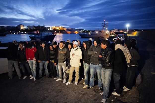 Z Tunezji na włoską wyspę Lampedusa przybyło 5 tys. imigrantów /INTERIA.PL/PAP