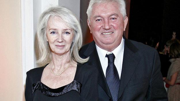 Z ukochaną żoną Zofią przeżyli razem 48 szczęśliwych lat. /AKPA