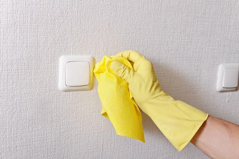 Z umyciem tapety uporasz w mig przy użyciu naturalnych środków /123RF/PICSEL