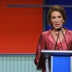 Z wielkiego biznesu do wielkiej polityki? Była szefowa Hewlett-Packard zwyciężczynią pierwszej debaty Republikanów