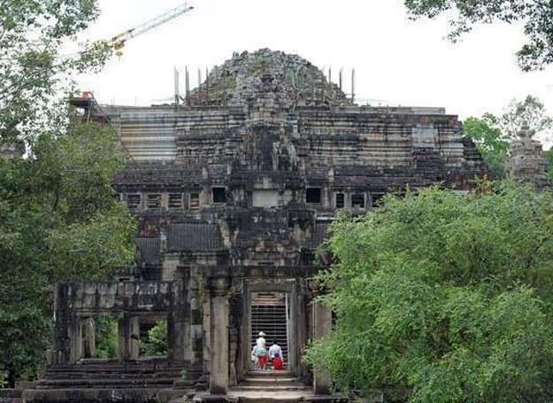 Z wielkiej cywilizacji zostały dziś tylko takie pozostałości... /AFP