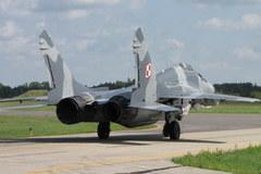 Z wizytą u polskich lotników na  Litwie