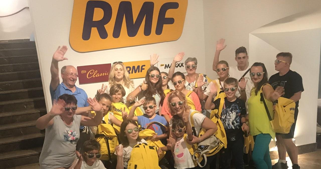 Z wizytą w radiu RMF FM. Finał akcji Lepsze Jutro