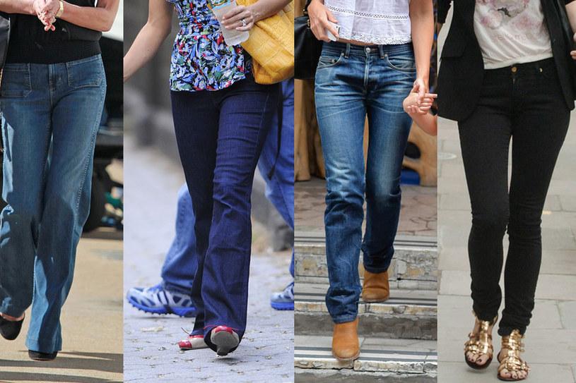 Z wysokim stanem, prostymi nogawkami, luźne boyfriendy czy rurki? Wybór zależy od sylwetki! /East News