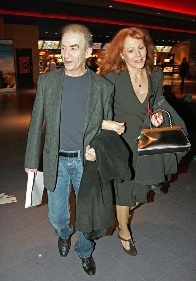 Z żoną Elżbietą  /AKPA