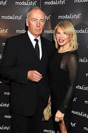 Z żoną Ireną tworzą bardzo udany związek  /MWMedia