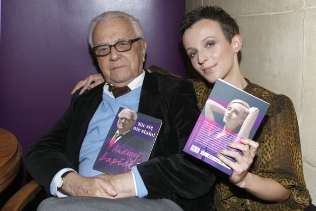 Z żoną Kamilą, fot.Engelbrecht  /AKPA