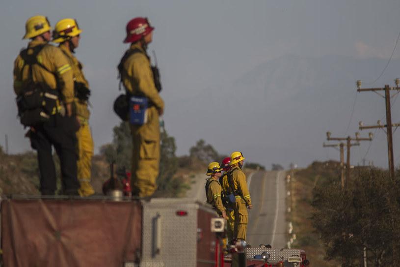 Z żywiołem walczy łącznie 10 tysięcy strażaków /AFP