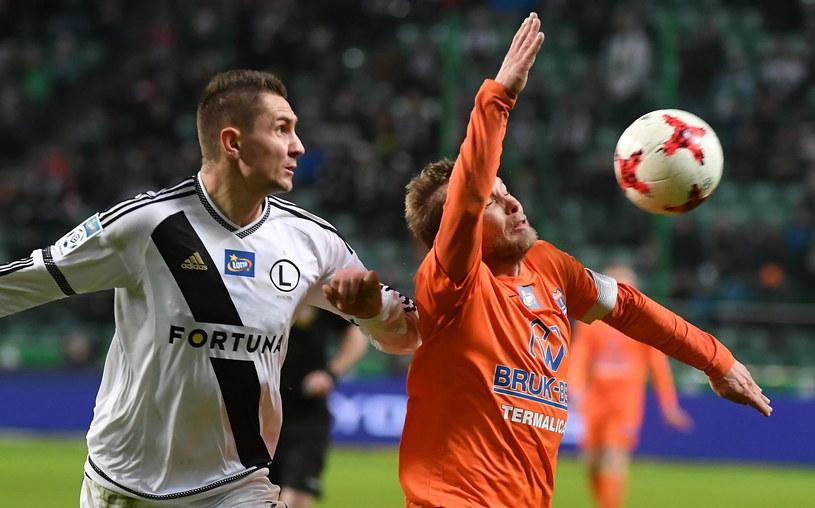 Za Artura Jędrzejczyka (z lewej) Legia zapłaciła 1 mln euro /Bartłomiej Zborowski /PAP