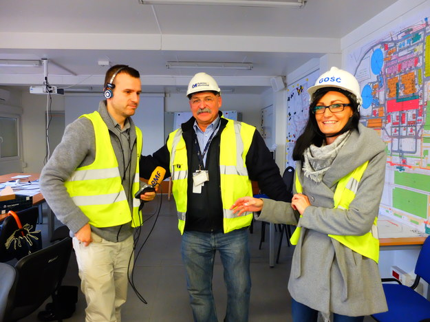 Za chwilę reporter RMF FM wyruszy na teren budowy bloków 5 i 6 Elektrowni Opole /Mat. prasowe /RMF FM