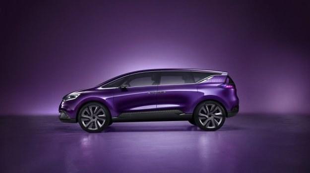 Za design Initiale odpowiada Laurens van der Acker. /Renault
