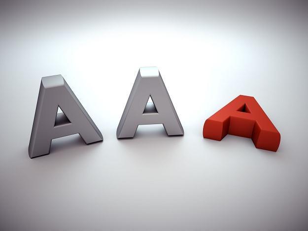 Za dwa miesiące Standard & Poor's podejmie decyzję w sprawie naszego ratingu /AFP