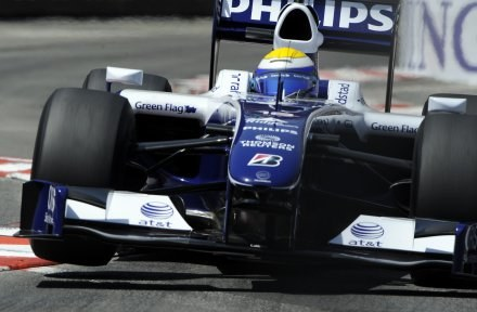Za kierownicą Nico Rosberg /AFP